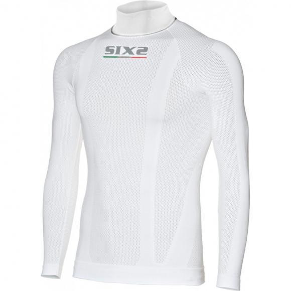 Camiseta de cuello alto y mangas largas para niños Carbon Underwear
