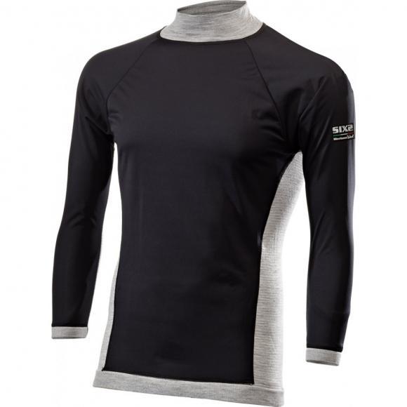 Camiseta cortaviento manga larga Lana Merino TS4 MERINOS