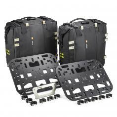 Pack Adventure Overlander-S de Kriega para BMW F850GS ADV / R1200GS LC ADV / R1250GS ADV con OS-Plataforma