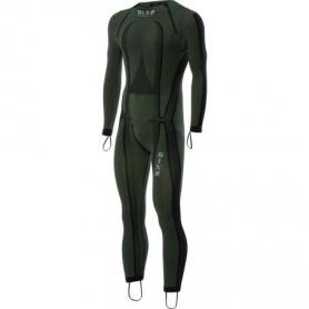 Mono integral Racing Carbon Underwear Color Verde Oscuro