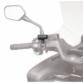 Kit universal para montar los S951, S952, S953 e S954 sobre motocicletas con semi-manillares de Givi