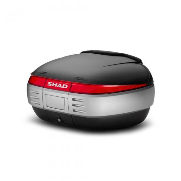 Maleta SH50 con capacidad para 2 cascos integrales de SHAD