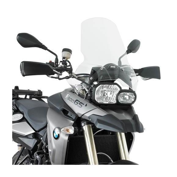 Cúpula transparente (44x46 cm) para BMW F650GS (08 - 17) / BMW F800GS (08 - 17) de GIVI