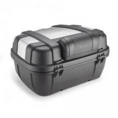 Respaldo acolchado en negro para baúl trasero Trekker de 52L de GIVI