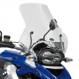 Cúpula específica transparente (51,5 x 56,5 cms) para BMW R1200GS (04-12) de GIVI