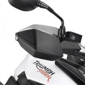 Extensión en plexiglás ahumado para Triumph Tiger 800 / 800 XC (11-14) de GIVI