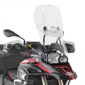 Cúpula Airflow transparente para F800GS Adventure (13-17) **extensible** de GIVI