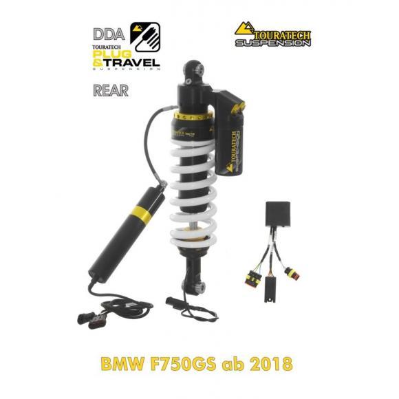 Amortiguador Trasero DDA / Plug & Travel de Touratech Suspension para BMW F750GS (2019-)