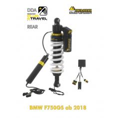 Amortiguador Trasero DDA / Plug & Travel de Touratech Suspension para BMW F750GS / F850GS / Adventure (2018-)