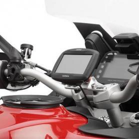 Soporte para la fijación de navegadores Garmin Zumo 390LM y Garmin Zumo 590LM sobre el S901A smart mount de Garmin