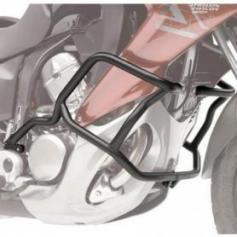 Defensas de motor tubular negra específica para Honda NC 750 X 2016 de GIVI