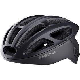 Casco de ciclismo de carretera con intercomunicador integrado SENA R1