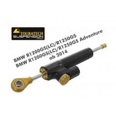 Amortiguador de Dirección CSC Touratech para BMW R1250GS / R1200GS LC (2014-2018) / R1200GS LC ADV (2014-) con juego de montaje