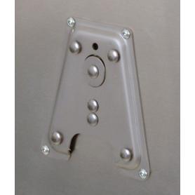 Placa de fijación del soporte de accesorios de las maletas de aluminio Zega Mundo / Zega PRO