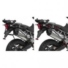 Portamaletas laterales de fijación rápida para maletas MONOKEY® para TRIUMPH Tiger 800 / 800 XC / 800 XR (11 - 16) de GIVI