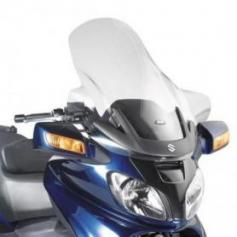 Parabrisas transparente con spoiler (80 x 72 cms) para Suzuki AN 650 Burgman Executive (02-12) de GIVI