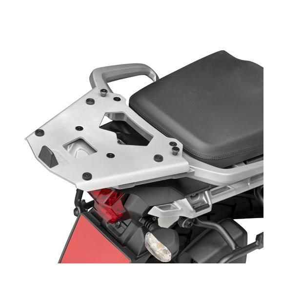 Parrilla trasera en aluminio para maleta MONOKEY® para Triumph Tiger Explorer 1200 (12-15) /1200 (16-17) de GIVI