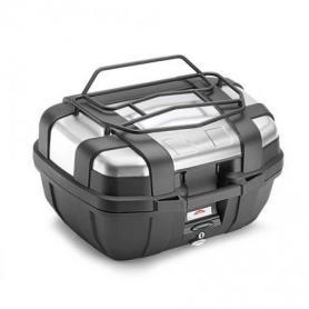 Porta equipajes metálico en negro para top case TRK52 de GIVI