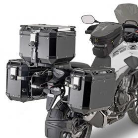 Portamaletas lateral específico PL ONE-FIT para maletas MONOKEY® CAM-SIDE Trekker Outback
