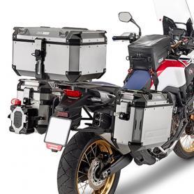 Portamaletas Lateral para Maletas Trekker Outback Monokey® Cam-Side de Givi para Honda CRF 1000 L
