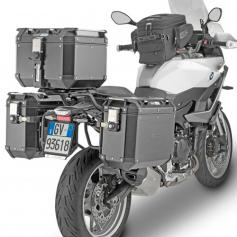 Portamaletas Lateral PL One Fit para Maletas Trekker Outback Monokey® Cam-Side de Givi para BMW F900 XR