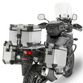 Portamaletas Lateral para Maletas Trekker Outback Monokey® Cam-Side de Givi para Suzuki DL 650 V-Strom (2017-)