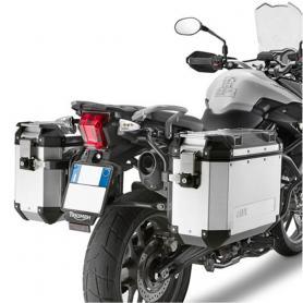 Portamaletas Lateral para Maletas Trekker Outback Monokey® Cam-Side de Givi para Triumph Tiger 800 / 800 XC / 800 XR (2011-2017)