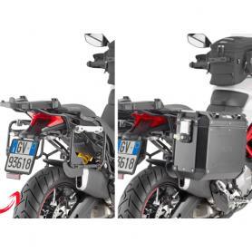 Portamaletas Lateral para Maletas Trekker Outback Givi para Ducati Multistrada 950 S / 1260 (2019-)