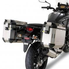Portamaletas Lateral para Maletas Trekker Outback Monokey® Cam-Side de Givi para Honda CB 500 X (13-18)