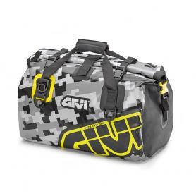Bolsa Impermeable 40L de Givi - Gris / Amarillo