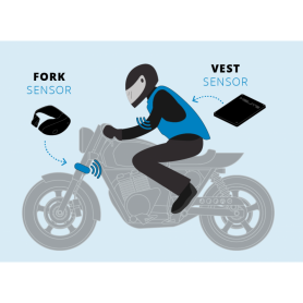 Kit SDU completo sensor horquilla para chalecos Airbag Helite