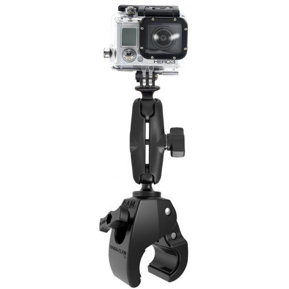Soporte mediano RAM Tough-Claw ™ con adaptador universal para cámara de acción