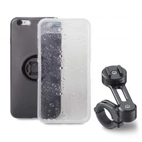 KIT MOTO (Carcasa, funda lluvia y soporte) para teléfonos iPhone y Samsung de SP-CONNECT