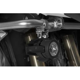 Juego de adaptadores de faros adicionales de BMW a la ampliación de barras de protecciónTouratech de BMW R1200GS LC