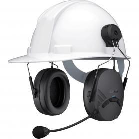 Auriculares Protectores Tufftalk Lite Bluetooth con Casco de Seguridad