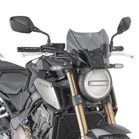 Cúpula ahumada de Givi para Honda CB 650 R (2019-2020)