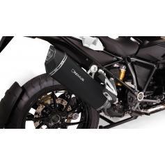 Escape Remus Black Hawk en acero inoxidable para BMW R 1250 GS / Adventure (2018-)