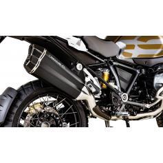 Escape Remus 8 en acero inoxidable con tubo de conexión para BMW R 1250 GS / Adventure (2018-)