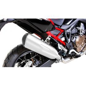 Escape Remus NXT en acero inoxidable para Honda CRF 1100 L Africa Twin (2020-), incluido el tubo de conexión
