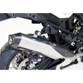 Escape Remus Hexacone de acero inoxidable para KTM 1050-1190 Adventure / Adventure R / 1290 Super Adventure (2013-2016) Euro 3