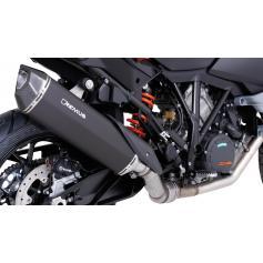 Escape Remus Black Hawk de acero inoxidable para KTM 1050-1190 Adventure / Adventure R / 1290 Super Adventure (2013-2016) Euro 3