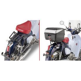 Adaptador posterior específico para maleta Monolock para modelos Honda Super Cub125