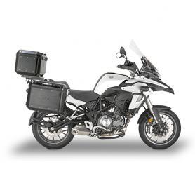 Portamaletas lateral específico maletas MONOKEY® para Benelli TRK502 (17-18) de Givi