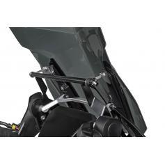 Estabilizador de parabrisas con adaptador GPS Touratech para BMW R1250GS / BMW R1250GS ADV / BMW R1200GS LC / BMW R1200GS ADV LC