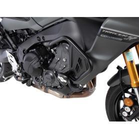 Barras de protección de Motor con almohadilla de protección en negro para Yamaha Tracer 9 / GT (2021)