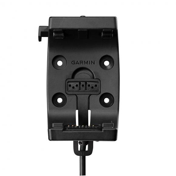 Soporte con cable de alimentación y audio para GPS Garmin