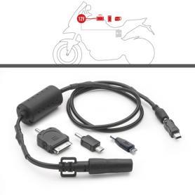 Kit Power Connection para alimentación de dispositivos GPS, Smartphones de GIVI.