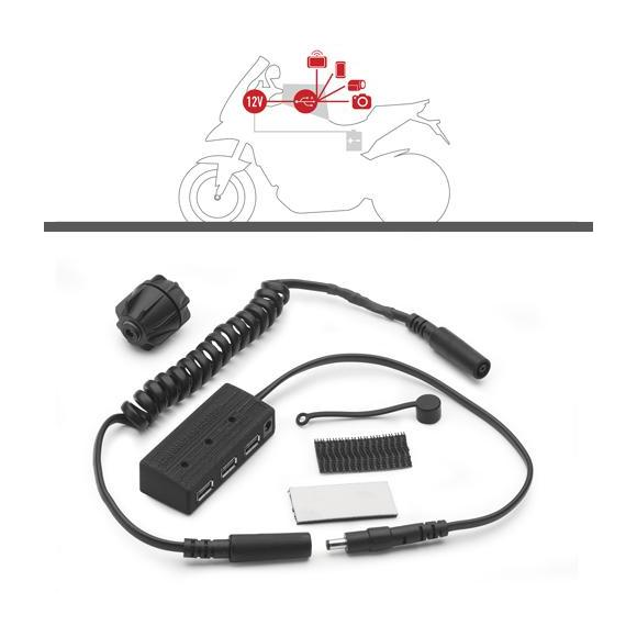 Kit Power Hub para alimentación interna de bolsas de depósito de GIVI