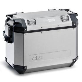 Juego de maletas laterales Trekker Outback de 37L en aluminio de GIVI