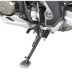 Ampliación de caballete lateral en aluminio y acero inoxidable para Honda Crosstourer 1200 (12-17) / Crosstourer 1200 DCT (12-17) de GIVI